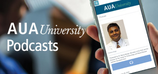 New Podcast Series from the AUA