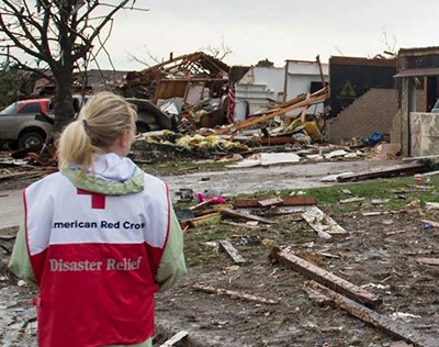 Give to the American Red Cross