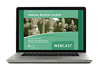 2015 Annual Review Course Webcast