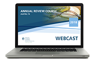 Annual Review Course Webcast (2018)