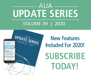 Ad for Update Series 2020 from the AUA