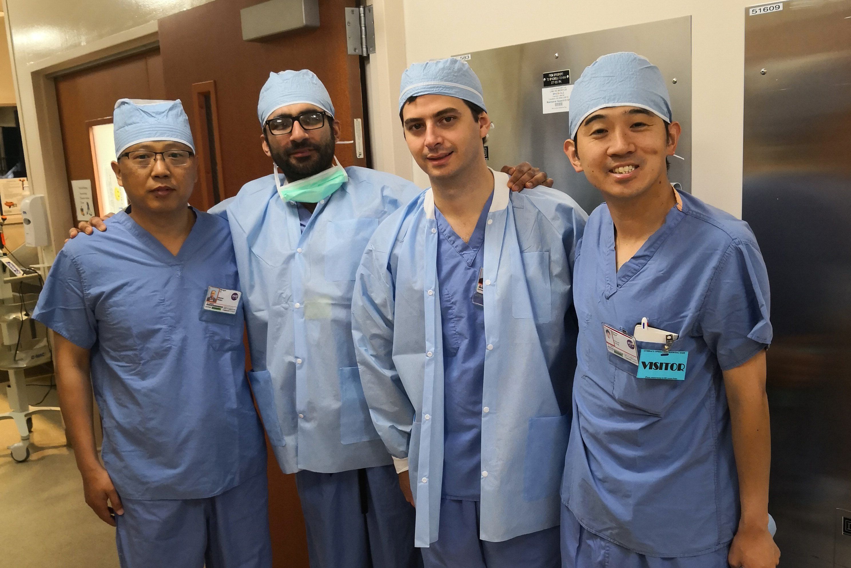 The AUA's Academic Exchange Program provides international residents and junior faculty the opportunity to see the world